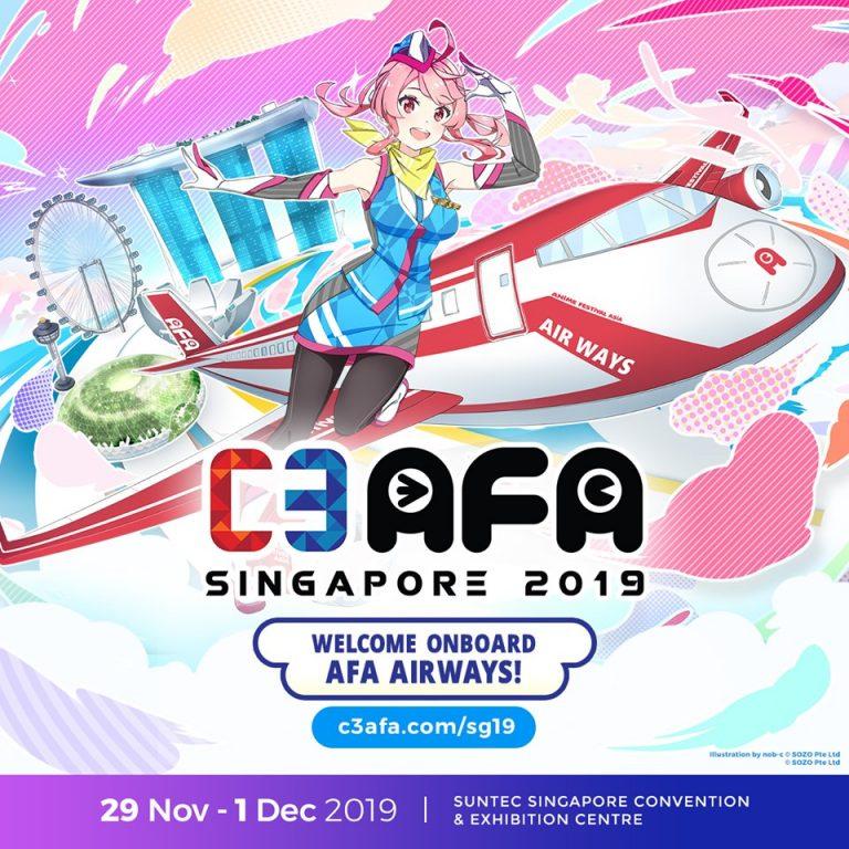 [2019/11/29-12/01] C3AFA SINGAPORE 2019