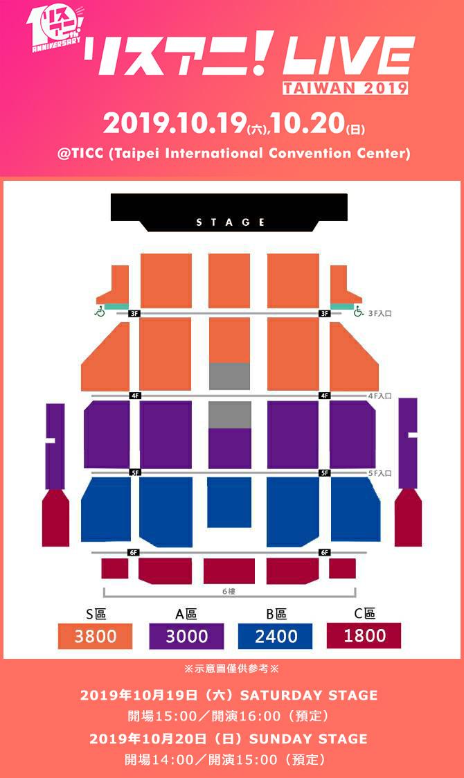 リスアニ!LIVE台湾、全ラインナップ&チケット情報発表