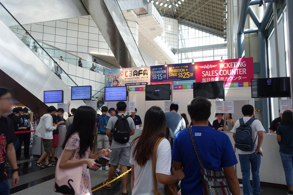 C3AFAシンガポール2019