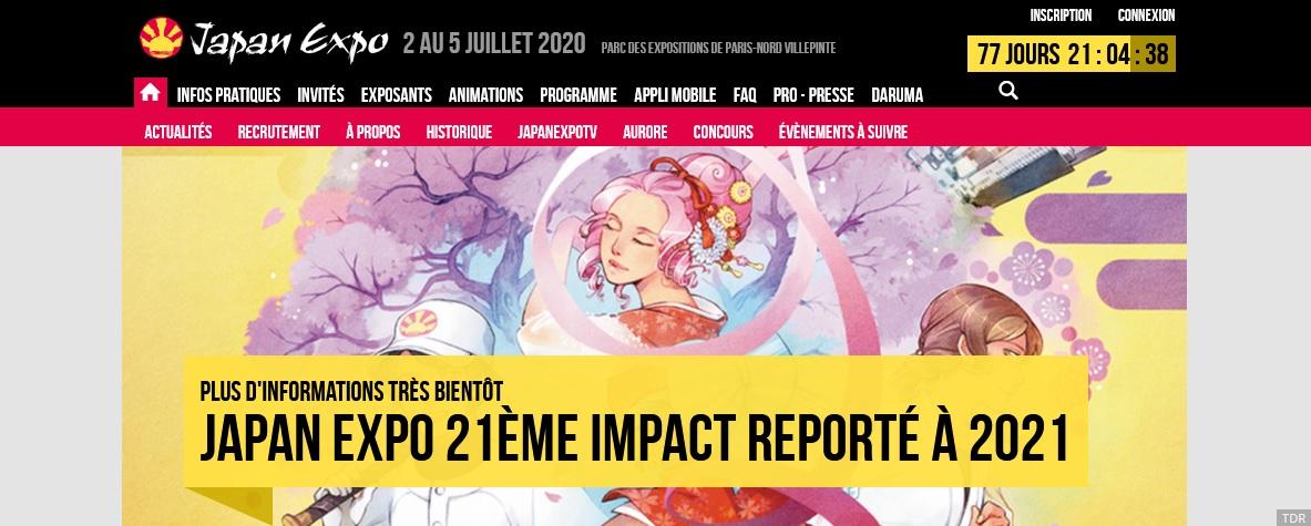 Japan Expo 21stが、新型コロナウイルスの影響で2021年に延期(実質中止)