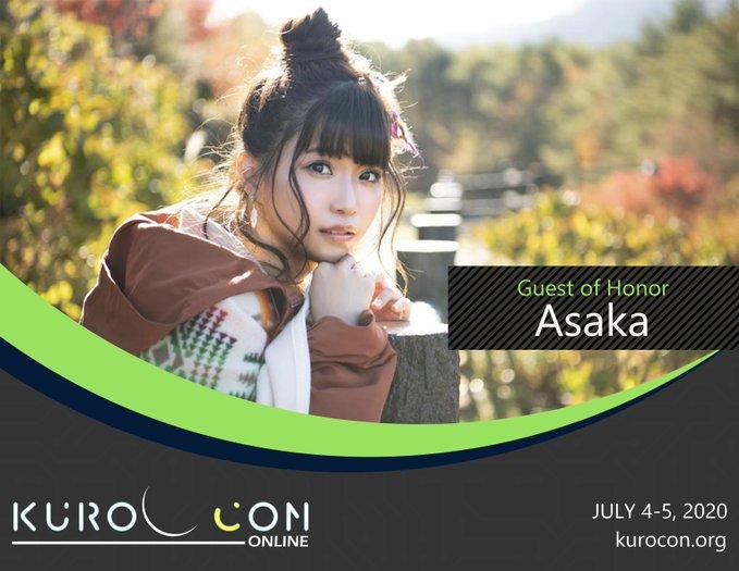 KuroCon Onlineに、亜咲花さんの出演が発表
